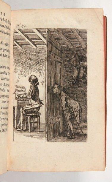 [CAZOTTE (Jacques)] Le Diable amoureux. Nouvelle espagnole. A Naples [Paris, Legay],...