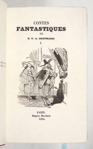 HOFFMANN (Ernst Theodor Amadeus)