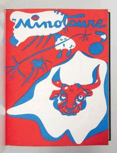 Minotaure. Revue artistique et littéraire....