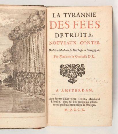 [CONTES DE FÉES]. [AUNEUIL (Louise de Bossigny,...