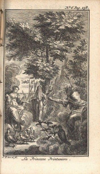 [CONTES DE FÉES]. Le Cabinet des fées. Contenant tous leurs ouvrages en huit volumes....