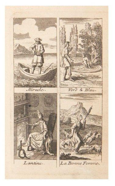 [CONTES DE FÉES]. [LA FORCE (Charlotte Rose de Caumont de)]. Les Fées. Contes des...