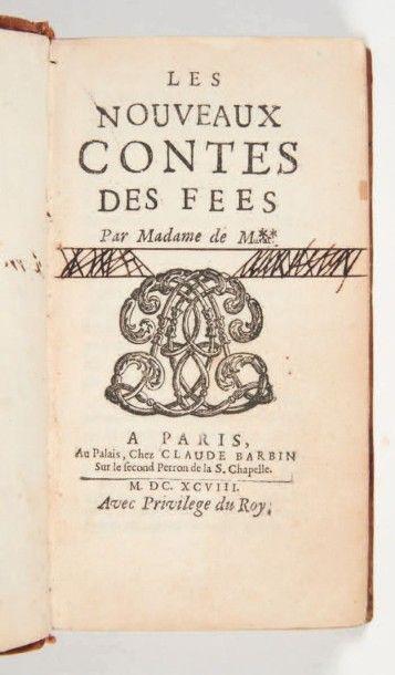 [CONTES DE FÉES]. [MURAT (Henriette-Julie...