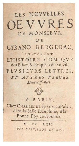 CYRANO de BERGERAC (Savinien)