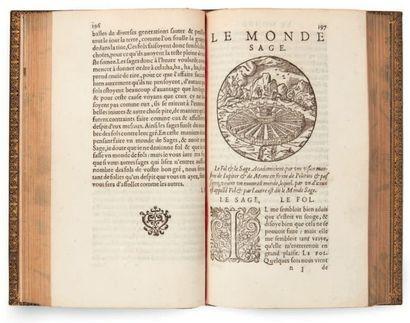 DONI (Anton Francesco) Les Mondes, celestes, terrestres et infernaux. Le monde petit,...