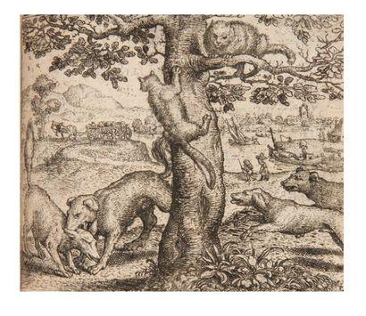 Esbatement moral, des animaux. Anvers, chez Gerard Smits pour Philippe Galle, sans...