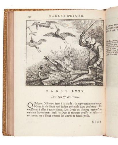 ESOPE Les Fables d'Esope, & de plusieurs autres excellens mythologistes, accompagnées...