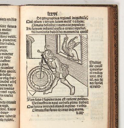 BRANDT (Sebastian) Stultifera navis. Augsbourg, Johannes Schönsperger, avril 1497....