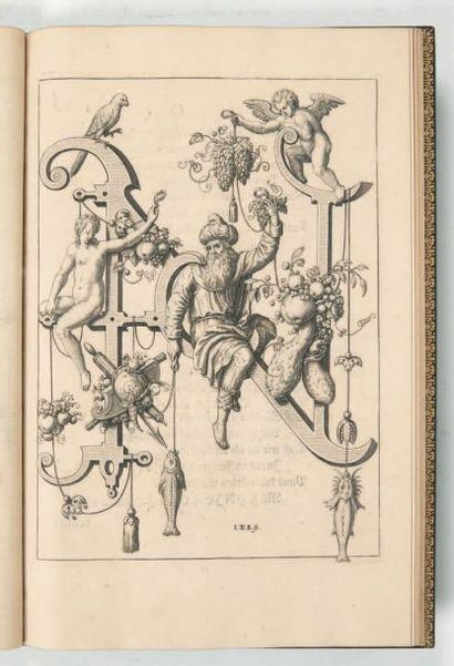 BRY (Jean Théodore & Jean Israël de) Nova alphati [sic] effictio historiis ad singulas...