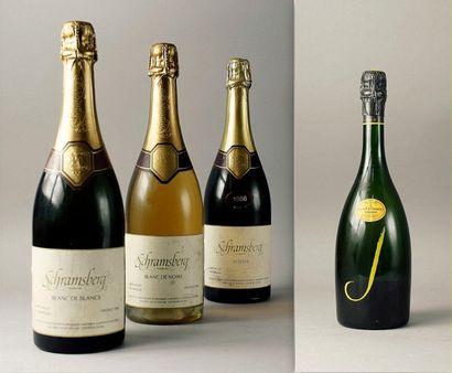 * 4 Bouteilles CALIFORNIE - NAPA VALLEY Vins...