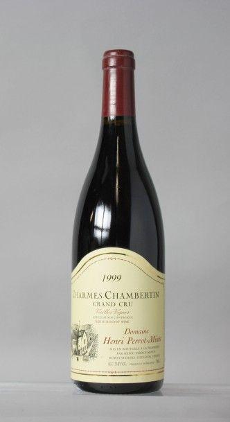 1 Bouteille CHARMES CHAMBERTIN Grand cru...