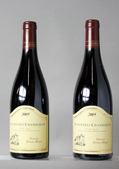 2 Bouteilles MAZOYERES CHAMBERTIN Grand cru...