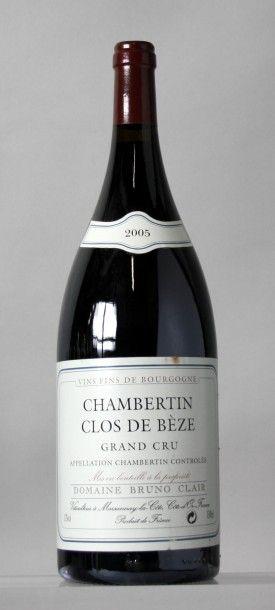 1 Magnum CHAMBERTIN CLOS DE BEZE Grand cru...