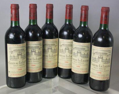 6 Bouteilles CHÂTEAU LA LAGUNE.1994.