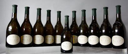 * 11 Bouteilles POUILLY FUMÉ «BARON DE L» CHÂTEAU LADOUCETTE 1986 Étiquettes légèrement...