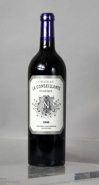1 Bouteille CHÂTEAU LA CONSEILLANTE - Pomerol...
