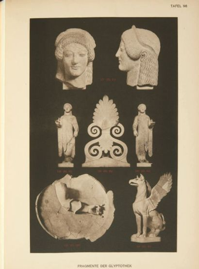 - FURTWÄNGLER ADOLF. Aegina das Heiligtum...