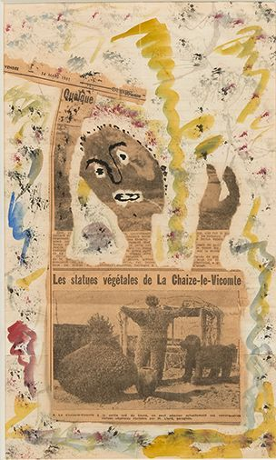 Gaston CHAISSAC (1910-1964)