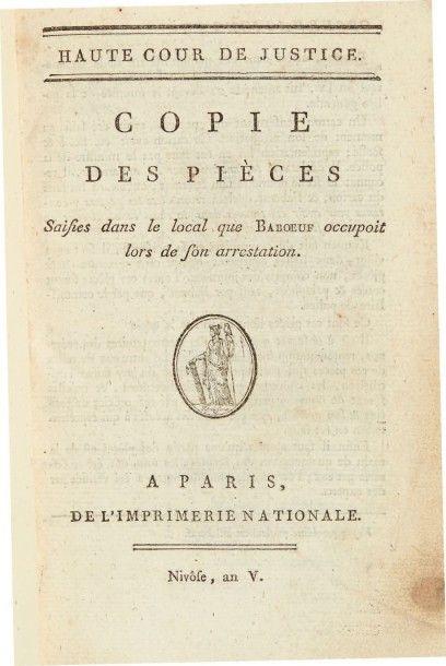 [BABEUF (François-Noël)]