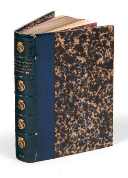 [BAGNE] Ensemble de 11 ouvrages. 1830-1933....
