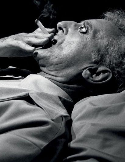 LUCIEN CLERGUE (1934-2014) Jean Cocteau (Le Poète) avant la résurrection, Carrières...