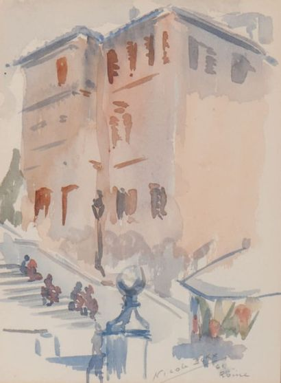 NICOLE ICKX Rome, 1961