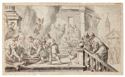 GIROLAMO BRUSAFERRO (VENISE 1677-1745)