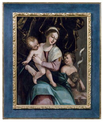ATTRIBUÉ À BERNARDINO INDIA (VÉRONE 1528-1590)