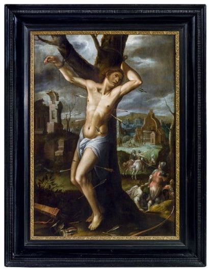ATTRIBUÉ À WENCESLAS COEBERGHER OU WENZEL COBERGHER (ANVERS 1560-BRUXELLES 1635)