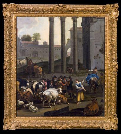 BAMBOCHANT ROMAIN DU XVIIE SIÈCLE, ENTOURAGE DE JAN MIEL