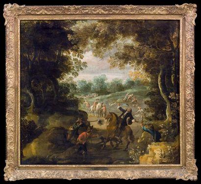 ATTRIBUÉ À PIETRE SNYERS (ANVERS 1592-BRUXELLES 1666 / 1667)
