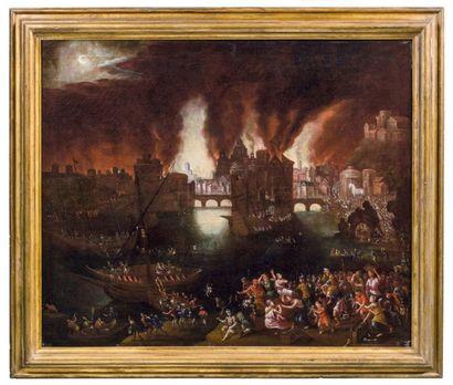 ÉCOLE ANVERSOISE DU MILIEU DU XVIIE SIÈCLE, ENTOURAGE DE DANIEL VAN HEIL (BRUXELLES 1604-1664)
