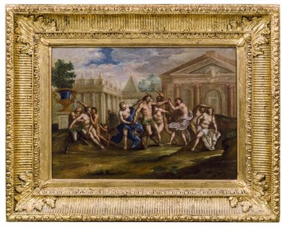 ATTRIBUÉ À PIETRO PAOLO RAGGI (GÊNES 1627/1628-BERGAME 1711)