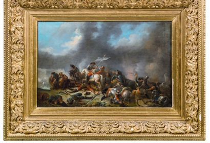 ATTRIBUÉ À FRANCESCO GIUSEPPE CASANOVA (LONDRES 1727-VORDERBRÜHL 1803)
