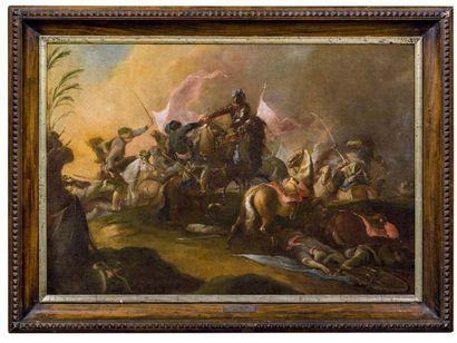 ÉCOLE FLAMANDE DU DÉBUT DU XVIIIE SIÈCLE, ENTOURAGE DE GEORG PHILIPP II RUGENDAS