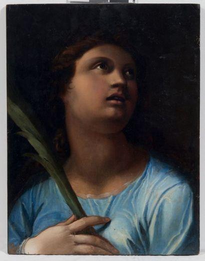 ÉCOLE ROMAINE DE LA SECONDE MOITIÉ DU XVIE SIÈCLE, ATELIER DE CRISTOFORO RONCALLI DIT IL POMARANCIO