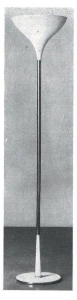 STILNOVO FONDÉ PAR BRUNO GATTA EN 1946 Italie Lampadaire Marbre, laiton et métal...