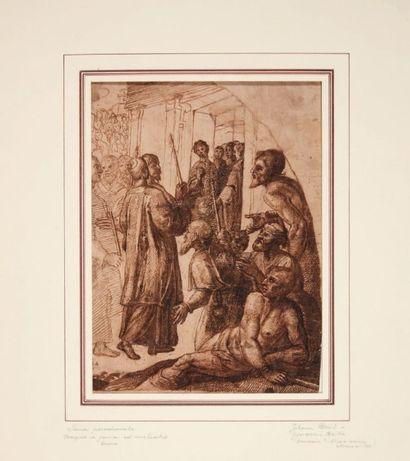 ATTRIBUÉ À JOHANN BREIT DIT GIOVANNI BRITTO (ALLEMAGNE VERS 1500-ACTIF À VENISE VERS 1550)
