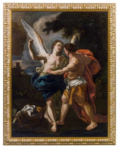 ECOLE NAPOLITAINE DU XVIIIE SIÈCLE, ENTOURAGE DE FRANCESCO SOLIMENA