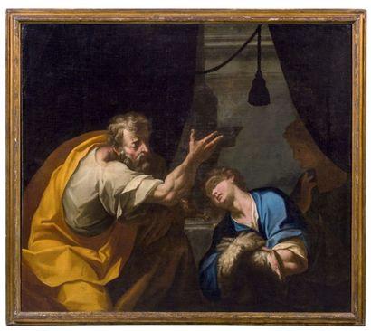 ATTRIBUÉ À ANTONIO BUSCA (MILAN 1625 - 1686)