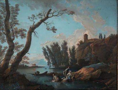 Ecole française du XVIIIe siècle, suiveur de Joseph VERNET