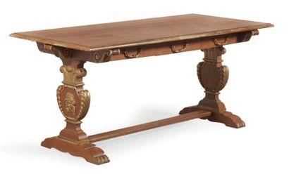 TABLE DE MILIEU de forme rectangulaire en...
