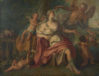 ATTRIBUÉ À MATTHEUS TERWESTEN (1670 - 1757)
