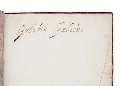 GALILEE (Galileo) Discorsi e Dimostrazioni matematiche, intorno à due nuove scienze...