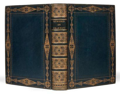 HAMILTON (Anthony) Mémoires du Comte de Grammont, par le C. Antoine Hamilton. Edition...