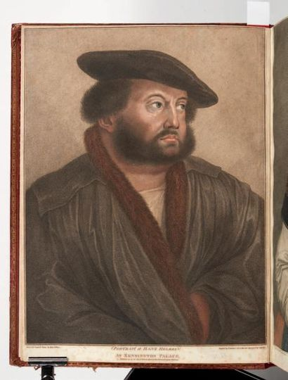 HOLBEIN (Hans) Imitations of Original Drawings by Hans Holbein, in the Collection...