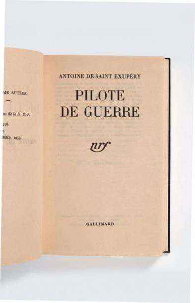 SAINT-EXUPÉRY (Antoine de)