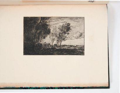 Sonnets et eaux-fortes. Paris, Alphonse Lemerre,...
