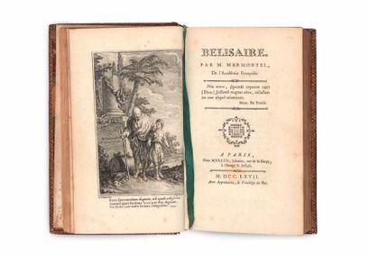 MARMONTEL (Jean-François) Belisaire. A Paris, chez Merlin, [De l'Imprimerie de P....