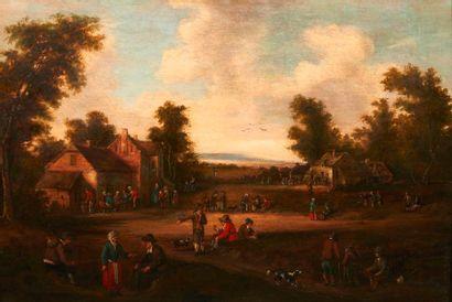 ATTRIBUÉ À CORNELIS DROOCHSLOTT(1630-1673)
